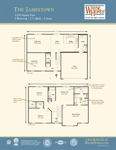 Jamestown Floorplan