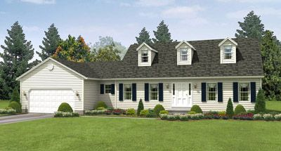 Nantucket - Wayne Homes Portage: Ravenna, OH - Wayne Homes