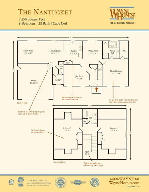 Nantucket Floorplan
