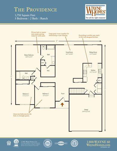 Providence Floorplan