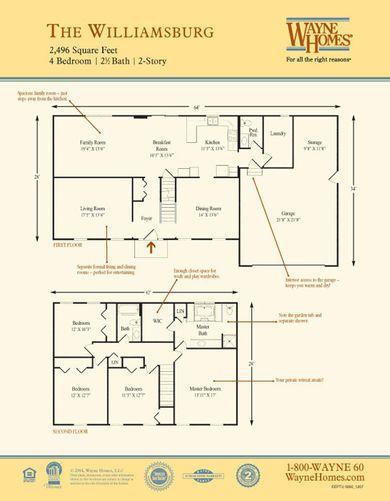 Williamsburg Floorplan
