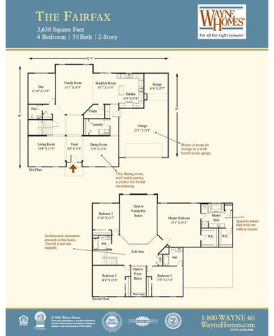Fairfax Floorplan