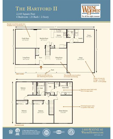 Hartford II Floorplan
