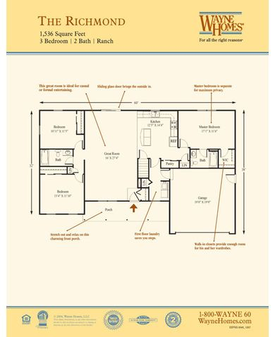 Richmond Floorplan