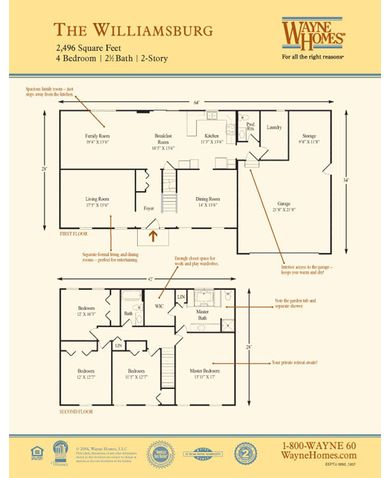 Williamsburg Floorplan