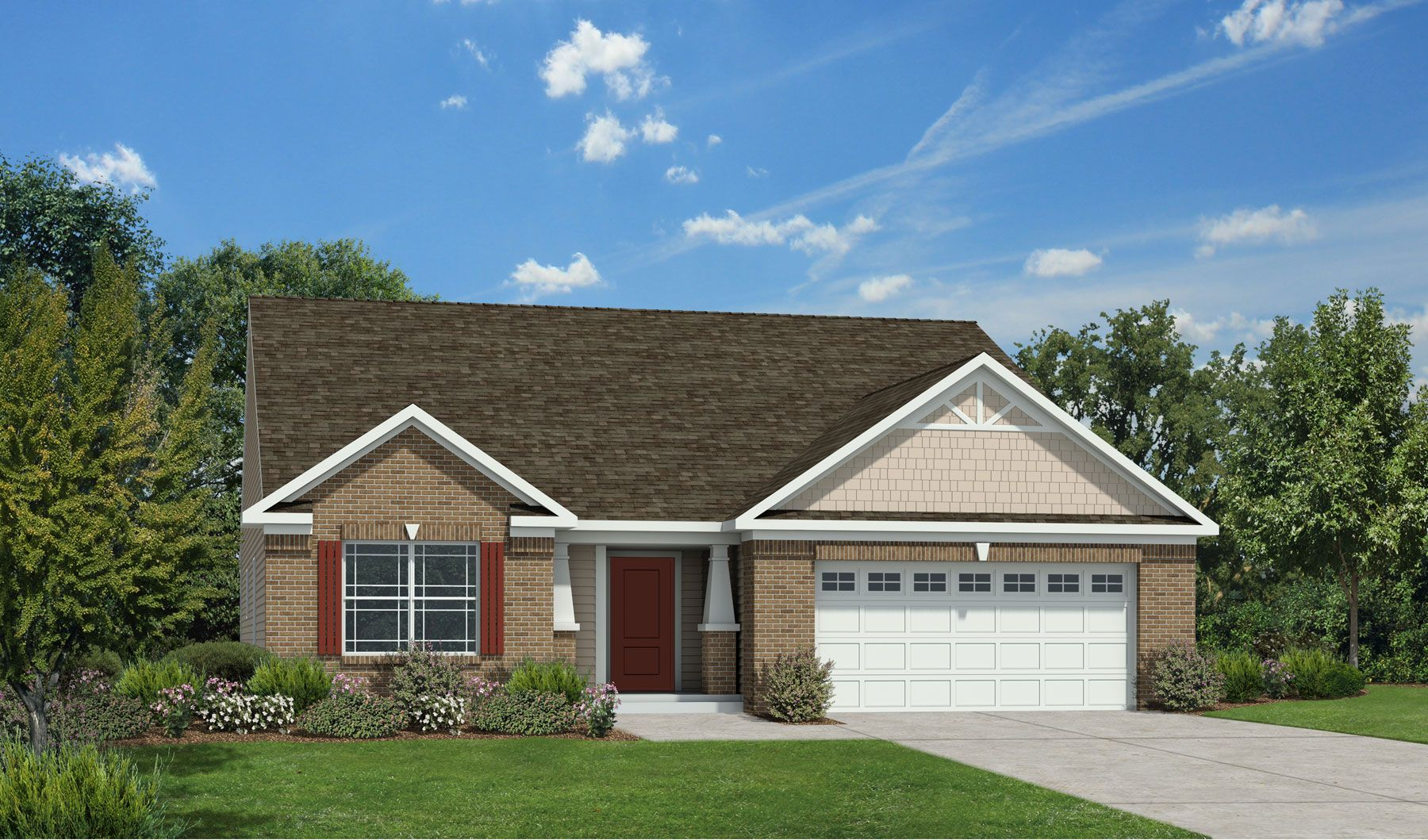 Hawthorne - Winding Ridge-Fairways East: Indianapolis, IN - Westport Homes of Indianapolis