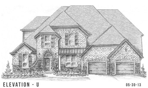 Lakes of Bella Terra 77' by Trendmaker Homes in Austin Texas