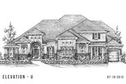 S131 - Build on Your Land - Avanti - North: Montgomery, TX - Trendmaker Homes