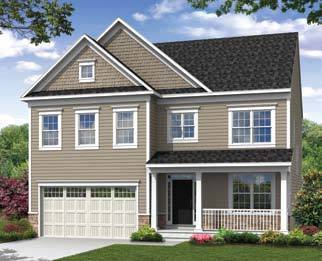 Creekside at osprey landing in glen burnie md new homes for Tidewater homes llc