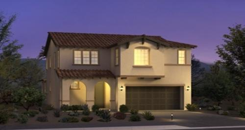 house for sale in Castille at Andorra in Las Vegas by Woodside Homes