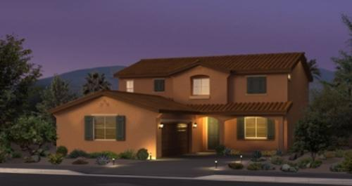 Geyser Peak in North Las Vegas by Woodside Homes in Las Vegas Nevada