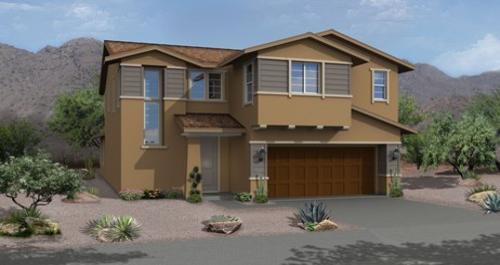 house for sale in Cielo de Estrellas in Las Vegas by Woodside Homes