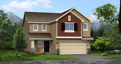 Foxboro North - Stonehaven in North Salt Lake by Woodside Homes in Salt Lake City-Ogden Utah