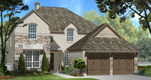 Harper Oaks in San Antonio by Woodside Homes in San Antonio Texas