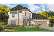 Plan 824 - Olympia Hills in Universal City: Universal City, TX - Woodside Homes