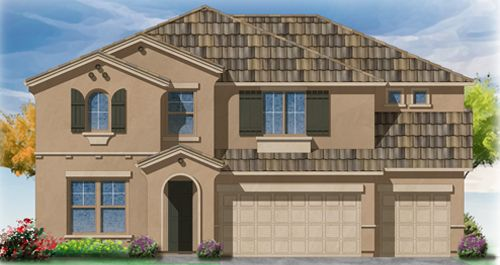 Villapaseo at Palm Ranch in Tulare by Woodside Homes in Visalia California