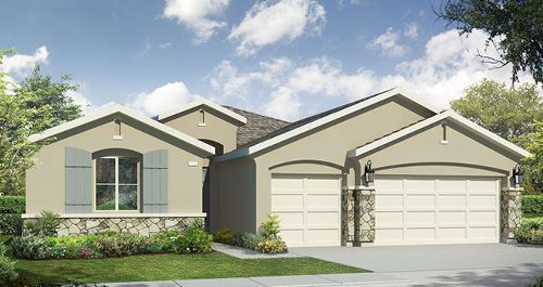 The Knolls at Majestic Oak in Visalia by Woodside Homes in Visalia California