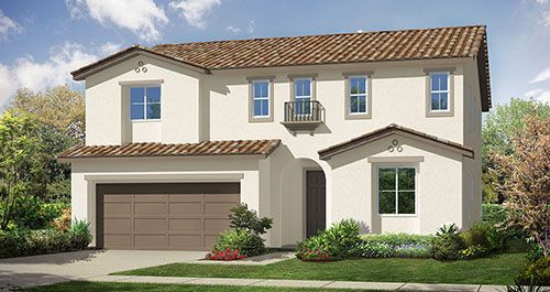 house for sale in Aspen at Sycamore Creek in Corona by Woodside Homes