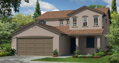 Bella Brisas II at Sunridge Park in Rancho Cordova by Woodside Homes in Sacramento California
