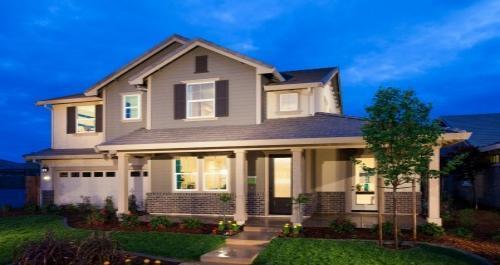 Eclipse II at Sunridge Park in Rancho Cordova by Woodside Homes in Sacramento California