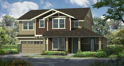 Eclipse II at Sunridge Park in Rancho Cordova by Woodside Homes in Sacramento California