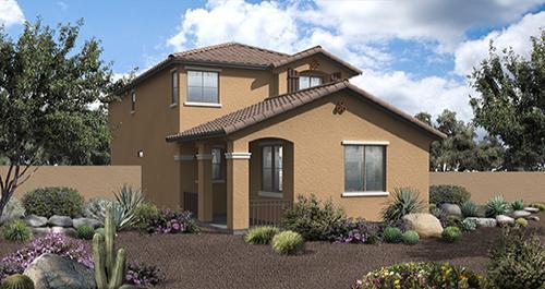 Villages at Westridge Park in Phoenix by Woodside Homes in Phoenix-Mesa Arizona