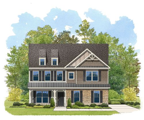 Lancaster: Lancaster : Walnut Creek by Eastwood Homes in Charlotte North Carolina