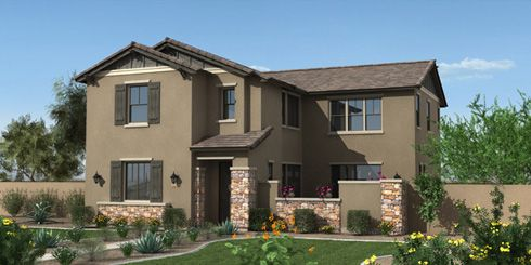 Southern Pacific at Cooley Station by Fulton Homes in Phoenix-Mesa Arizona
