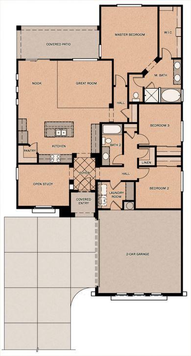 Tara Bella Floorplan