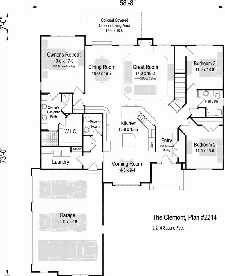 free home plans garage house plan side