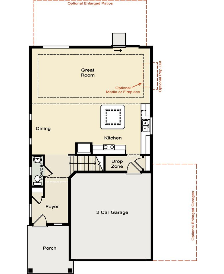 Oakwood Homes Oakwood Homes Platte Floor Plan